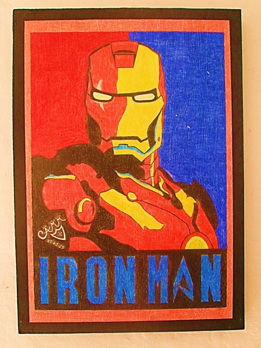 Iron Man by ccaamm3